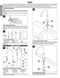 Price Pfister Kitchen Faucet Parts Diagram English Installation Pfister Gt26 4ypk User Manual Page 2 18