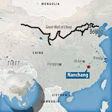Great Wall Of China On Map by Replica Of Great Wall So Realistic Tourists Think Its Real Is
