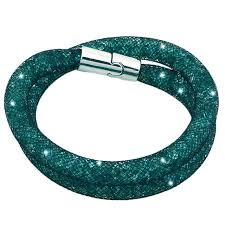 bracelet mesh images Crystal bracelets mesh chain with full resin crystal magnetic jpg