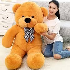 big teddy valentines day big teddy stuffed doll lift size teddy