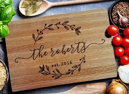 personalized cutting board wedding custom cutting board personalized cutting board carving wood