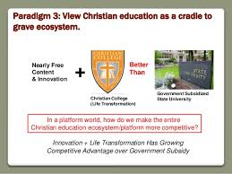 Paradigm    View Christian education