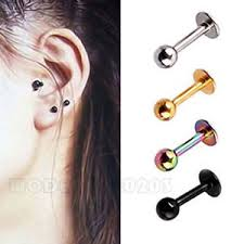 surgical steel earrings allergy unisex surgical steel small stud earrings tragus cartilage stud