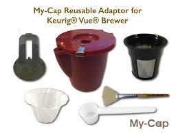 reusable adaptor for use with keurig vue brewers u2013 my cap
