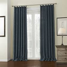 Custom Blackout Drapes Leyden Pinch Pleated Classic Solid Linen Curtain Drapes Multi Size