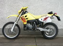 gallery of suzuki rmx 250