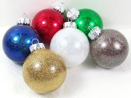 Glitter Christmas Ornaments Floor Wax by Glittery Christmas Ornament Tutorial Directions Supplies