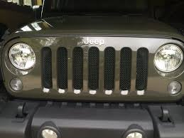 Rugged Ridge Billet Grille Inserts In Black Grill Inserts Page 2 Jeep Wrangler Forum