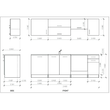 planit logiciel cuisine plan cuisine equipee plan de cuisine de 1m2 brico plan it cuisine