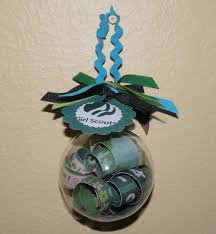 simple scout swap ideas got this clear plastic ornament at