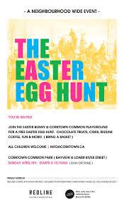 news u0026 events easter egg hunt in corktown common gwna board