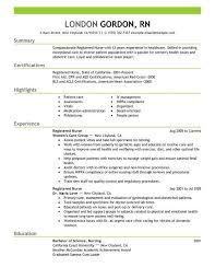 rn sample resumes nursing resume sample writing guide resume