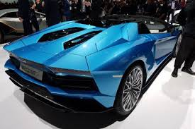 who made the lamborghini aventador lamborghini aventador s roadster revealed at frankfurt 2017 auto