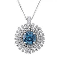 zircon necklace images Tara blue zircon pendant diamond boutique jpg