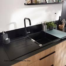 evier cuisine noir pas cher evier cuisine ikea with évier granit encastrer noir alios castorama
