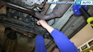 how to install remove front axle drive shaft 2002 07 jeep liberty