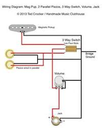 guitar wiring diagram 2 humbuckers 3 way lever switch 2 volumes 1