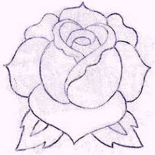 rose drawings in pencil maybe a tattoo idea painting