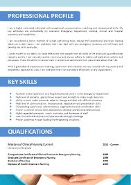 Accomplishment Examples For Resume by What To Include In A Nursing Resume
