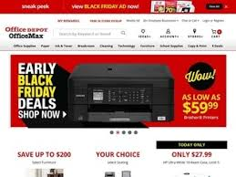 black friday office depot office depot rated 1 5 stars by 317 consumers officedepot com