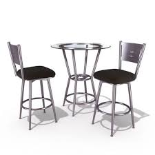 Modern Restaurant Furniture by Modern Restaurant Table And Chairs 3d Model Cgtrader