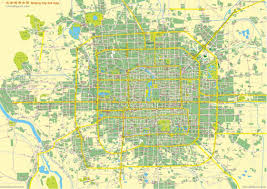 Yuan Dynasty Map Beijing City Complete And Full Map Overview City Entire By