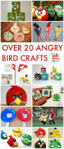 20 angry birds crafts and activities for kids angry birds