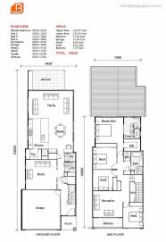 narrow home floor plans 19 best small lot house floorplans images on house