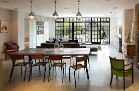 Black Hutches Director Room Dining Traditional With Interior Design Details