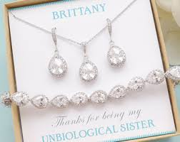 bridesmaid jewelry sets wedding jewelry sets etsy