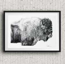 black u0026 white buffalo print buffalo home decor buffalo