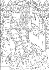 coloring pages tattoos steampunk coloring page tattoo female pinterest steampunk