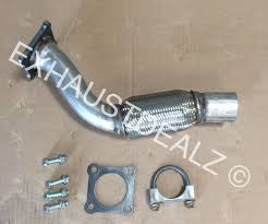 vw volkswagen jetta repair flex pipe catalytic converter repair 01