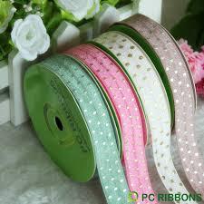 elastic ribbon wholesale hot sale pc wholesale fold elastic printed dots ribbon widly