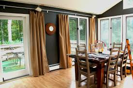 Window Treatments For Dining Room Home Design 79 Extraordinary Dining Room Curtain Ideass