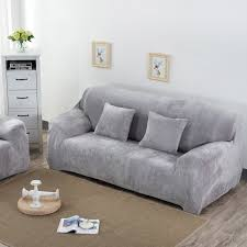sofa hussen stretch aliexpress buy simpe solid sofa covers sectional sofa cases