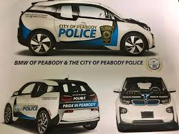 bmw in peabody peabody department gets two bmw i3 squad cars
