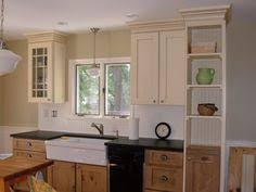 two tone kitchen cabinets traditional kitchen by emery