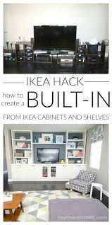 11 Ikea Bathroom Hacks New Uses For Ikea Items In The by Best 25 Ikea Built In Ideas On Pinterest Diy Built In Shelves