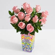 how much is a dozen roses one dozen stemmed pink roses