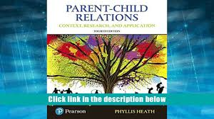 read online parent child relations context research and