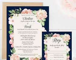 Invitation Paper Wedding Invitations U0026 Paper Etsy Ca