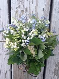 of the valley bouquet mini bouquet of forget me nots and of the valley s