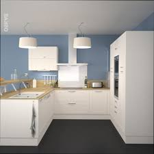 cuisine bleu clair cuisine bois cuisine bois clair et bleu