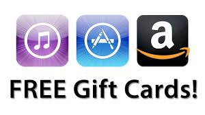 gift cards for free how to get free itunes app store and gift cards