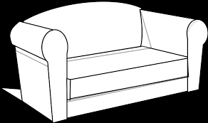 Couch Potato Clipart Couch Clipart Black And White Clipart Panda Free Clipart Images