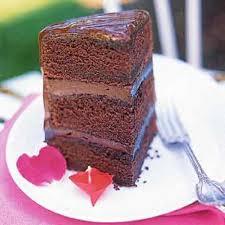 chocolate ganache cake recipe epicurious com