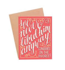 Congrats On Your Divorce Card Funny Divorce Card Divorce Card Funny Card Congrats On Your
