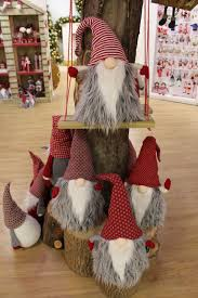 Gnome Ornament Christmas Our Lovely Cuddly Gonks Festive Pinterest Gnomes Craft And