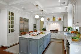 blue grey kitchen cabinets kitchen cabinets island blues rutt handcrafted cabinetry